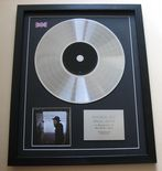 JAMES BAY - CHAOS AND THE CALM CD / LP PLATINUM PRESENTATION DISC